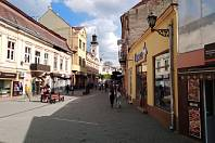 Nejen Český Užhorod. Je třeba přiznat, že i bez nich by se jednalo o hezké historické město plné památek