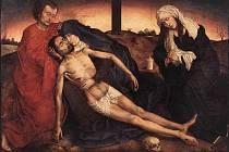Rogier van der Weyden, Pieta.