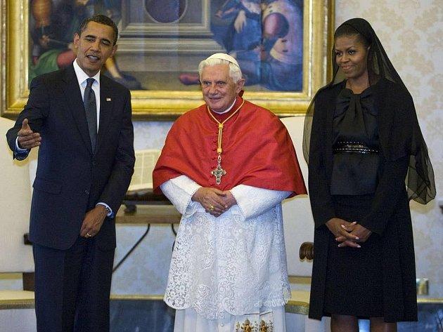 V pátek se sešel americký prezident Obama s papežem ve Vatikánu.