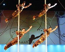 Čínský cirkus v Ústí nad Labem