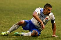 Ostrava - Liberec: Milan Baroš dal gól z penalty