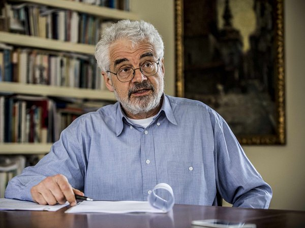 Leo Pavlát, ředitel Židovského muzea vPraze.