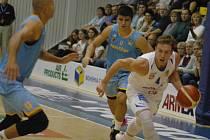 8. kolo basketbalové ligy: Děčín - Prostějov 90:76