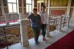 Ředitelka organizace LGBT Network Russia Tatiana Vinničenková (vlevo) a Olga Baranova, ředitelka moskevského komunitního centra