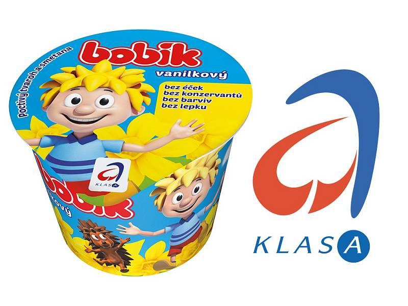 Mléčné výrobky z Bohušovické mlékárny.