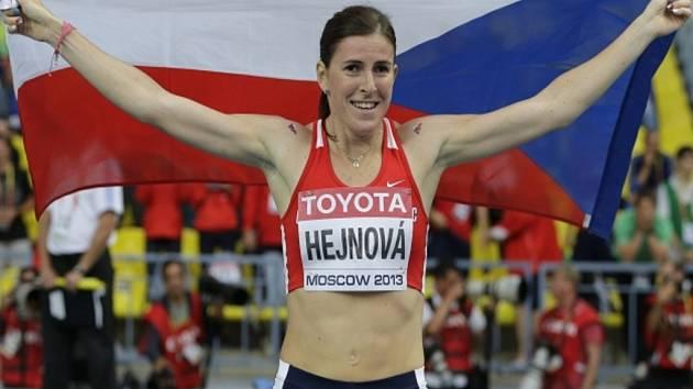 Překážkářka Zuzana Hejnová si v Moskvě doběhla pro titul mistryně světa.