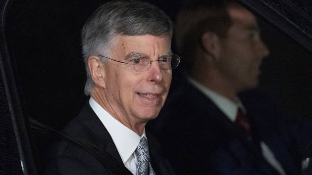 William Taylor, vysoce postavený americký diplomat působící na Ukrajině