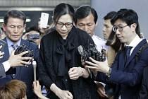 Bývalá viceprezidentka společnosti Korean Air Heather Čoová.