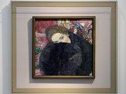 Obraz Gustava Klimta Dáma s rukávníkem (1916-1917).