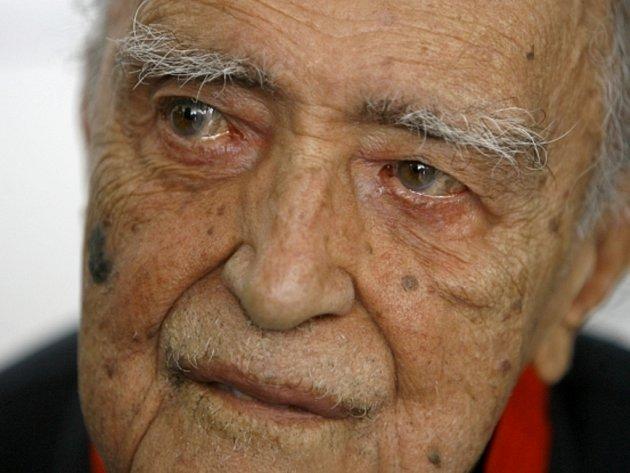 Legendární brazilský architekt Oscar Niemeyer.
