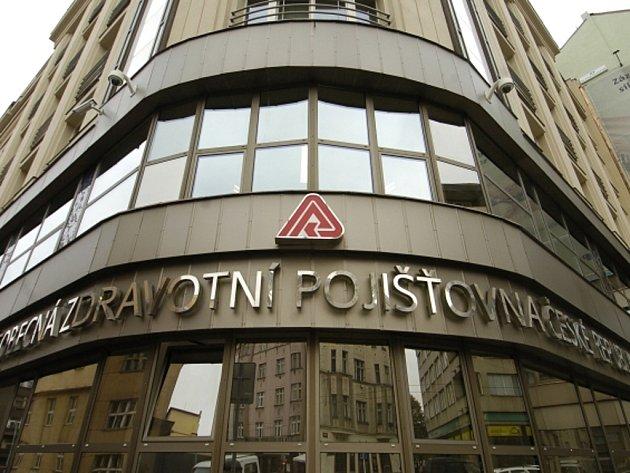 Budova Všeobecné zdravotní pojišťovny v pražské Orlické ulici na Praze 3.