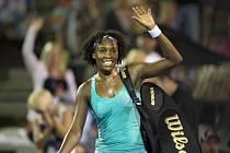 Venus Williamsová na turnaji v Aucklandu.