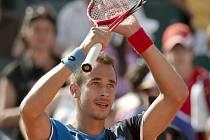 Lukáš Rosol vybojoval na turnaji v Bukurešti svůj první titul na okruhu ATP v kariéře.
