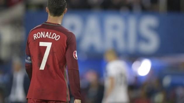 Zklamaný Ronaldo.