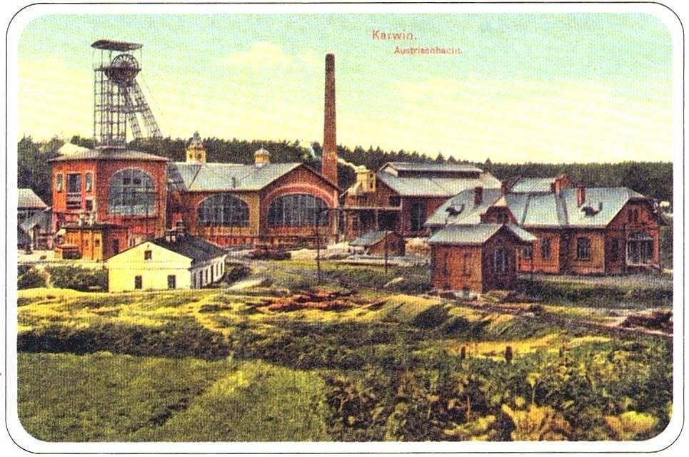 Důl Barbora v roce 1911