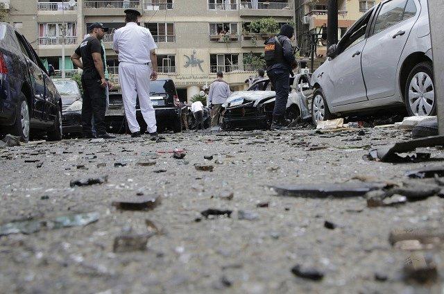 Egypt, exploze, ilustrační foto