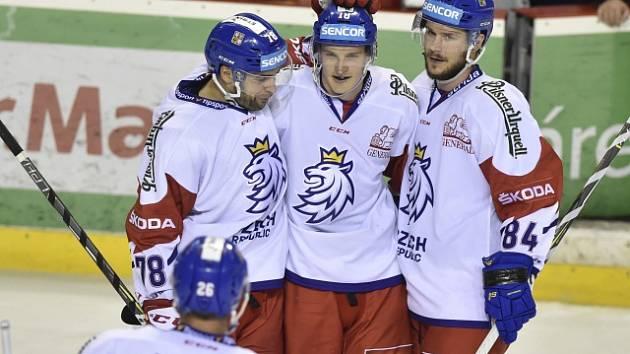 Čeští hokejisté na Euro Hockey Challenge