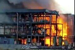 Výbuch v čínské továrně Yibin Hengda Technology