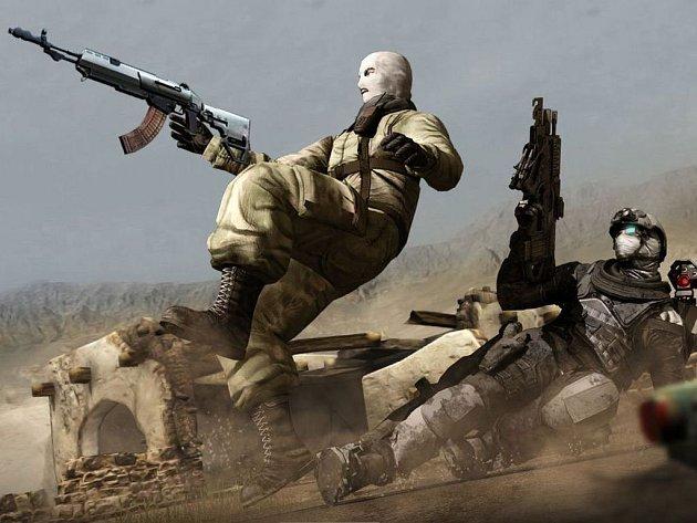 Počítačová hra Ghost Recon: Future Soldiers.