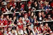 Zklamaní fanoušci hokejistů Třince.