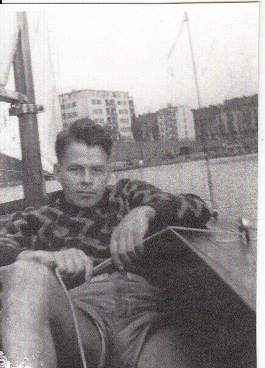 Jiří Navrátil na archivním snímku