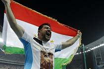 Kladivář Nazarov získal první olympijské zlato pro Tádžikistán
