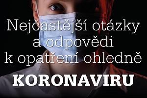 Koronavirus v Česku. Odpovědi na nejčastější otázky.