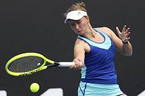 Česká tenistka Barbora Krejčíková na Australian Open