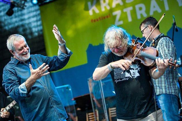 Michal Prokop a Framus Five na Zámku Holešov