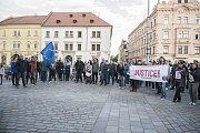 Milion chvilek pro demokracii v Plzni