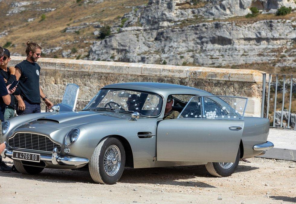 Natáčení posledního dílu filmu o Jamesi Bondovi