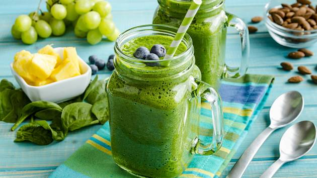 Nastartovat organismus pomůže například špenátové smoothie