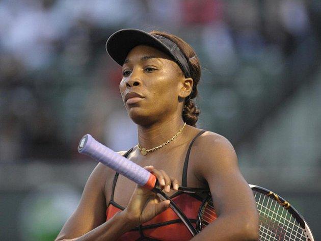 Venus Williamsová na turnaji v Miami.