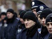 Policie na Krymu.