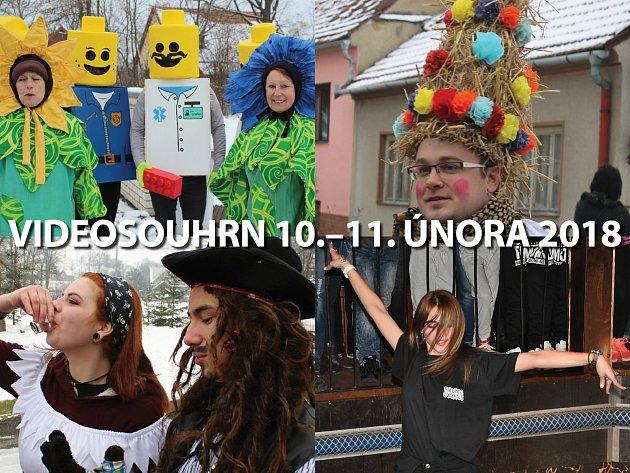 Videosouhrn Deníku – 10.–11. února 2018