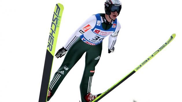 Roman Koudelka při závodech Světového poháru.