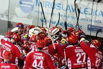 Hokejisté Třince porazili Plzeň 4:3 v prodloužení.