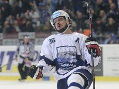 Martin Zaťovič z Komety se raduje z gólu.