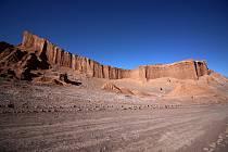 Poušť Atacama v Chile - Ilustrační foto