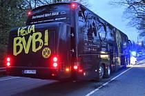 Exploze zasáhla autobus hráčů Borussia Dortmund