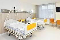 Nemocnice, lůžka - ilustrační foto.