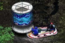 Hranická propast na Přerovsku patří podle odborníků k nejhlubším zatopeným jeskyním na světě.