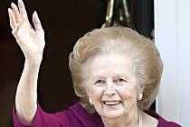Bývalá britská premiérka Margaret Thatcherová.