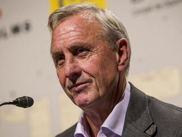 Fotbalová legenda Johan Cruyff.
