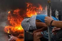 protivládní nepokoje ve Venezuele
