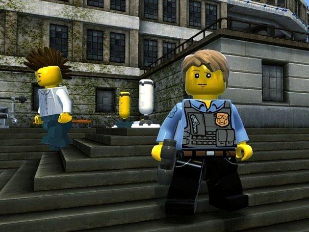 Počítačová hra Lego City Undercover.