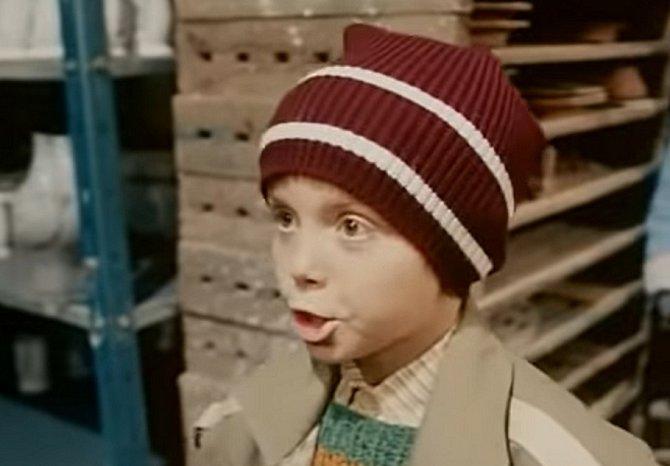 Ve filmu byl za hodného, avšak rozdováděného chlapce.