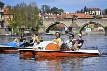 Slunečné a teplé počasí v Praze