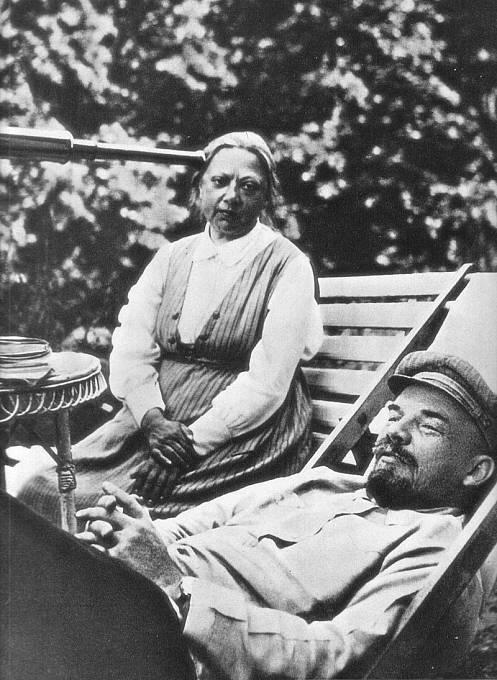 S Leninem v roce 1922