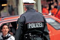 Rakouský policista. Ilustrační foto